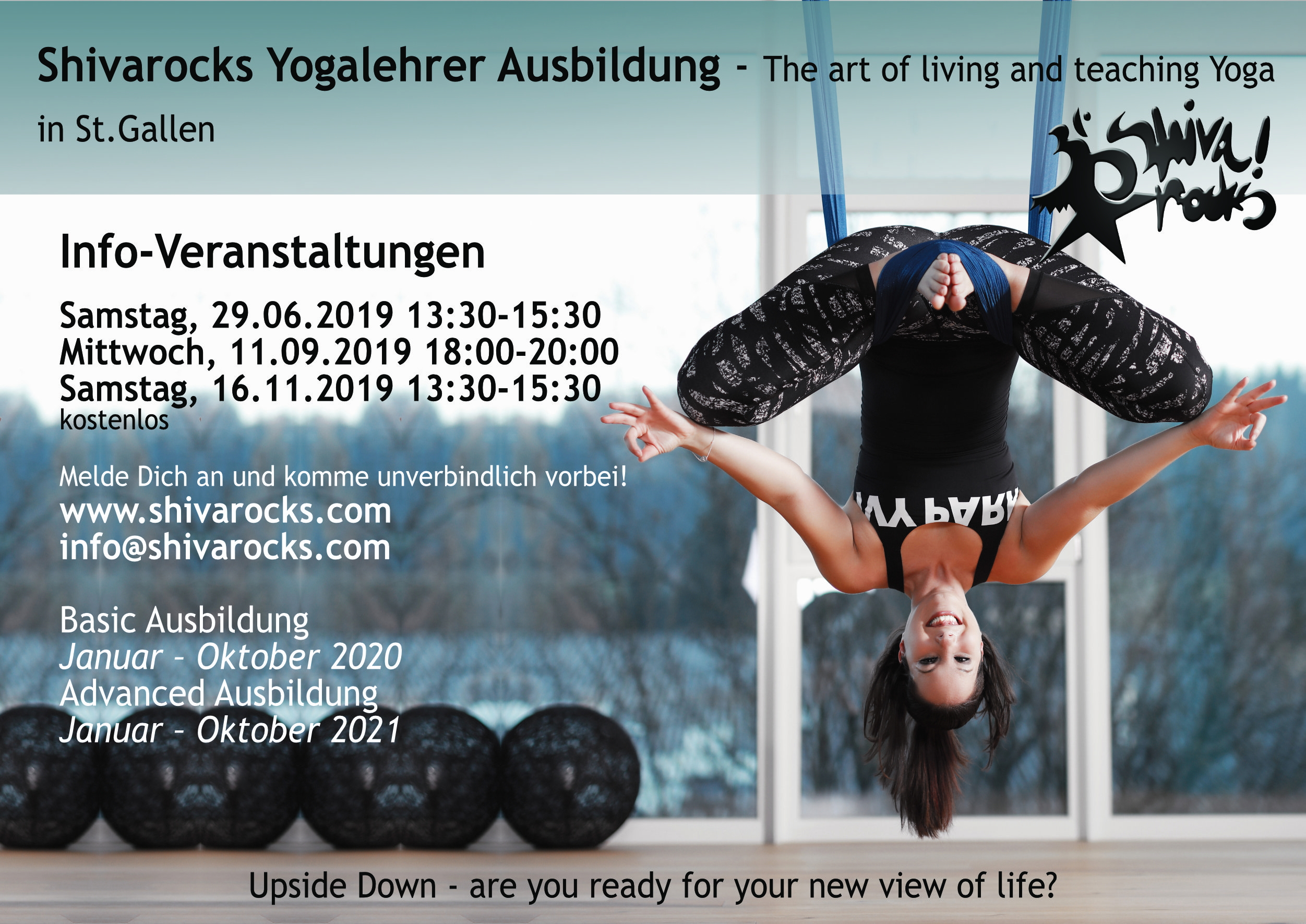Shivarocks Teachertraining Basic — Start: Januar 2020